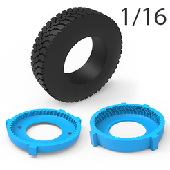 01.png Download 3DS file TRUCK TIRE MOLD 1/16 • 3D printer object, LaythJawad