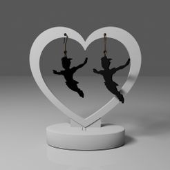 1.jpg Download free STL file Peter Pan earrings 2 • Model to 3D print, lauraioana