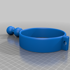Collar.png Download free OBJ file Cheza's Collar and Cuffs • 3D print design, ThoseLovelyBones