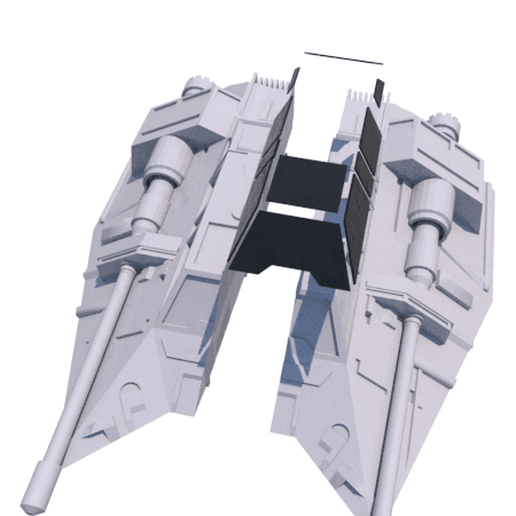 18.png Download STL file SHIP T-47 STAR WARS • 3D printer template, 3Diego