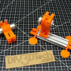 P1020889.JPG Download free STL file Mabuchi 555 and Drill Motor Mounts to 20x40 V-Slot! • Model to 3D print, DIY3DTech