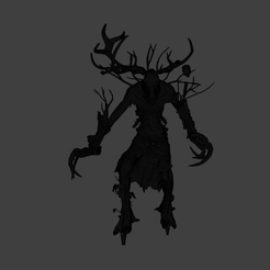 1.png Download STL file The witcher 3 - Leshen Full detail • Object to 3D print, beretek