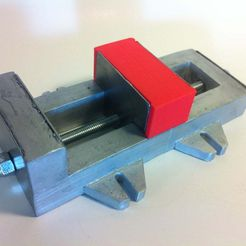 IMG_1049.JPG Download free STL file Milling Vice • Object to 3D print, mechengineermike