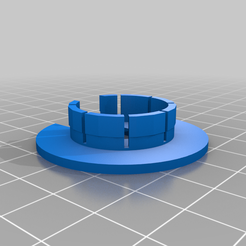1__Plug_With_Slot.png Download free STL file 1 inch plug with wider top and Slotted Vr • 3D printing design, JeenyusPete