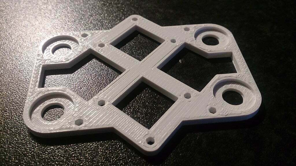 DSC_0114.JPG Download free SCAD file Naze32 Flight Controller Mount for Crossfire 2 • 3D printing object, mikeleigh