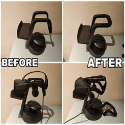 photo_2019-12-22_21-29-49.jpg Download free STL file VR headset stand replacement • 3D printing template, averok