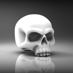 f50496ecf412bb4680f793e762ca4d4e_display_large.jpg Download free STL file Heroic scale skull 28mm • 3D printing object, BREXIT