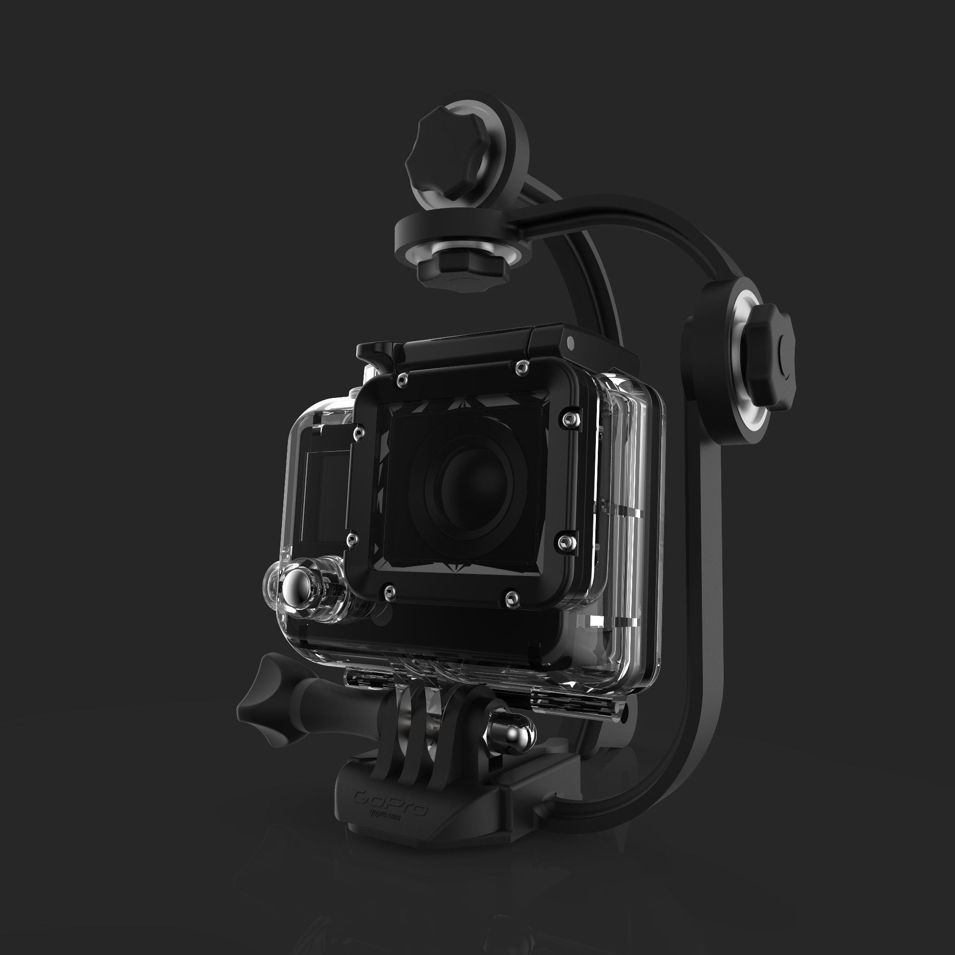 steady.jpg Descargar archivo OBJ Steadycam for gopro. • Diseño para imprimir en 3D, imaginestudio