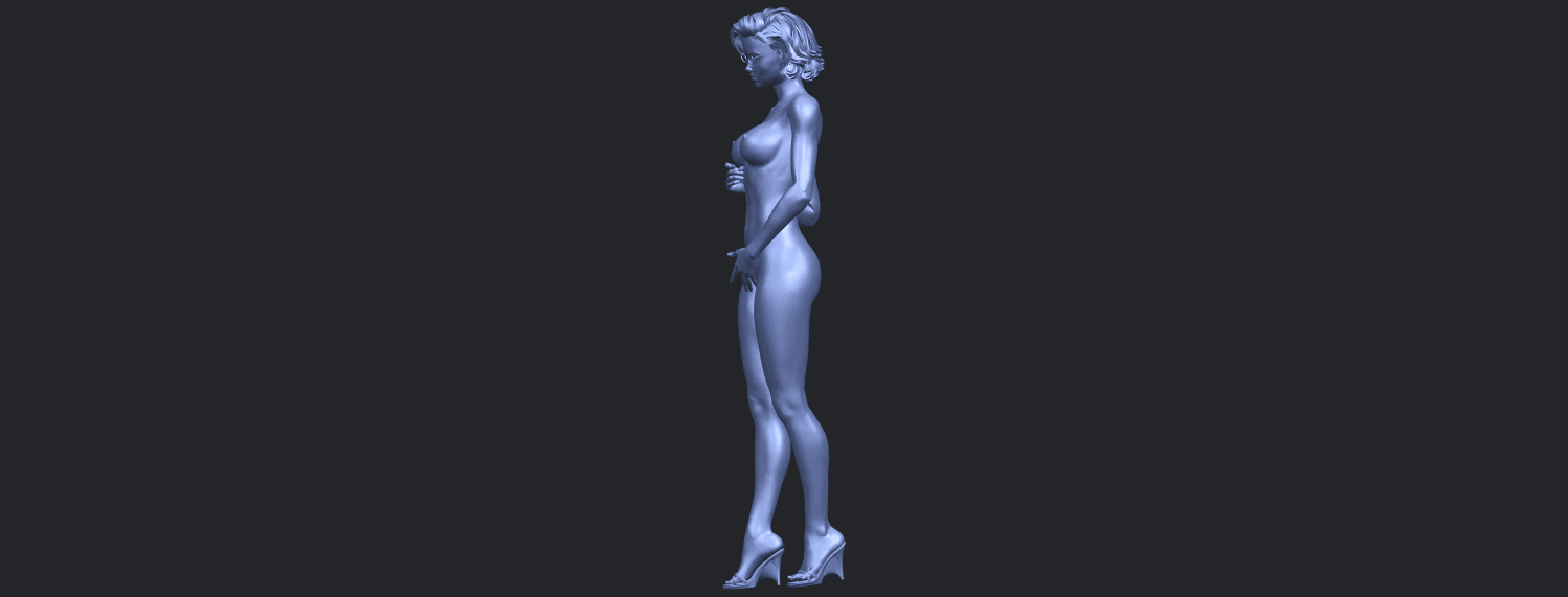 08_TDA0464_Naked_Girl_18_ex800B04.png Download free file Naked Girl 18 • 3D printable object, GeorgesNikkei