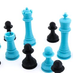 09fb7d883882b561ffffae5b9f6963e5_1449104556154_NMDChess-5.jpg Download free STL file Jumbo Chess Set • 3D print object, FerryTeacher