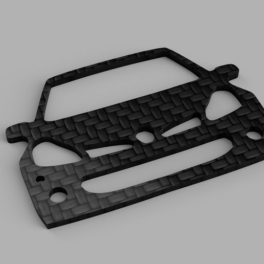 Clio_3_RS_2020-May-03_09-32-06PM-000_CustomizedView8785135812_jpg.jpg Download STL file Clio 3 RS Keychain • Model to 3D print, Ramanzin