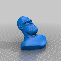 Thanos_Stylized_Bust_by_BODY3D.png Download free STL file Thanos Stylized Bust • Model to 3D print, BODY3D