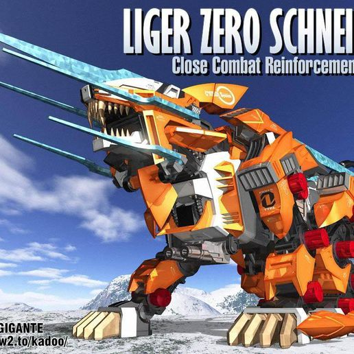 1b5a2b667e94ab1e075da39682fc1c09_display_large.jpg Download free STL file MORE ZOIDS • 3D printing template, Peanut3DButter