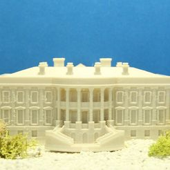 wh_880x440_display_large.jpg Download free STL file The White House #SeeTheWorld • 3D printable model, Balkhubal