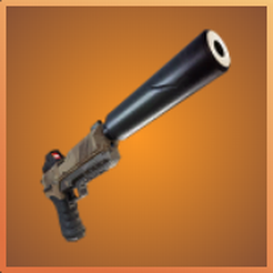 Pistolet Silencieux 3.png Download free STL file fortnite pistol • Template to 3D print, ptithdvideo