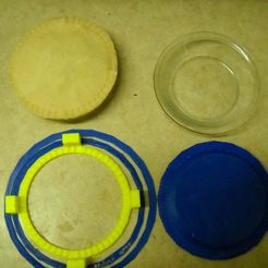 DSCN0526.JPG Download free STL file Libbey CRI56236 Glass Just Baking Pie crust forms and cover for freazing • 3D print model, ajory