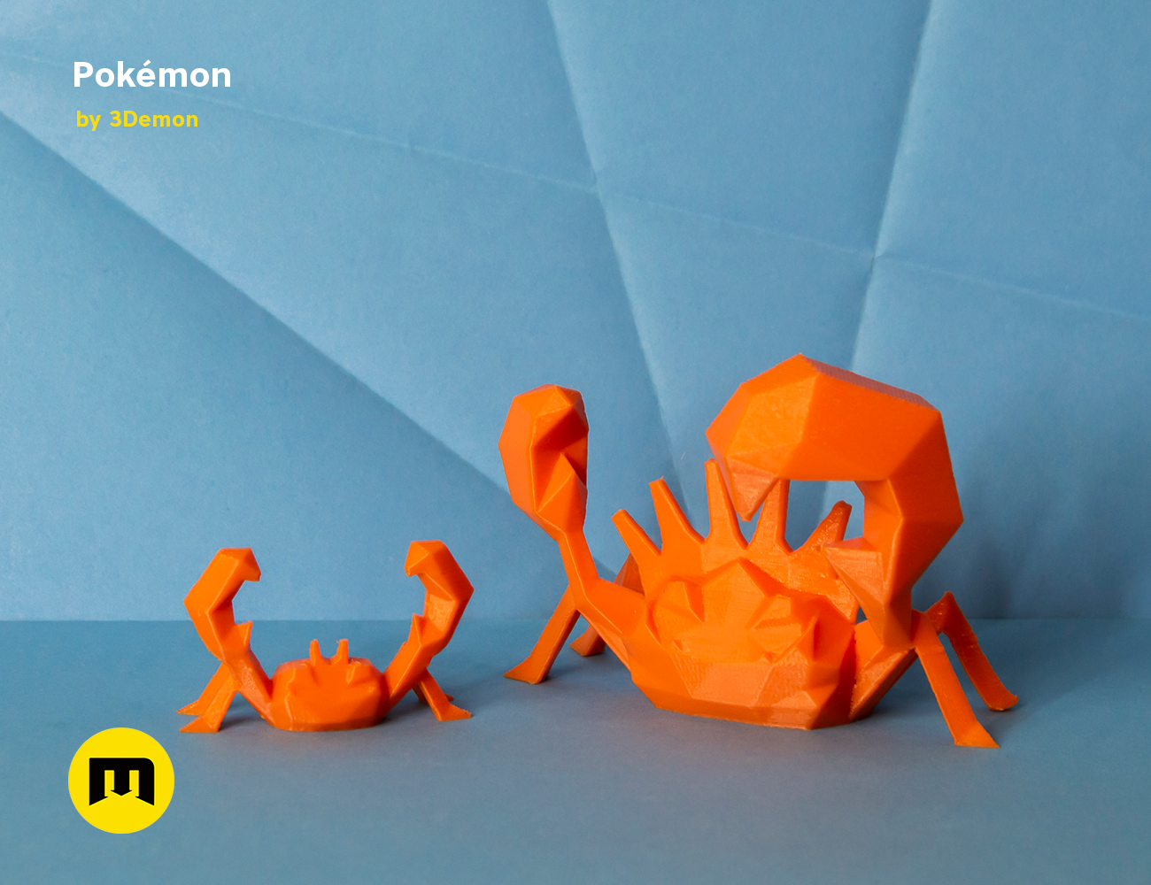 pokemon-low-poly055.png Download file Low Poly Pokemon Collection 151 • 3D printable object, 3D-mon