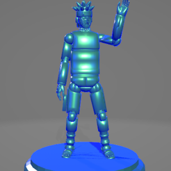 Sin título.png Download free STL file Naruto (wick) • 3D printer object, ARTCRAFT3D