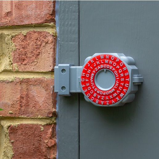 3f82a77882196183a0b77badbe7801b5_preview_featured.jpg Download free STL file Deadbolt Combination Lock • Model to 3D print, DuaneIndeed