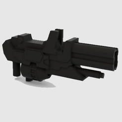 WFC path blaster.png Download STL file Transformers WFC Siege Path Blaster • 3D printable template, Protoa
