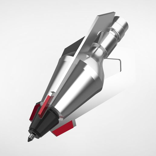 """004.jpg Download STL file The Hawkeye arrowhead 4 from the movie """"Avengers: Age of Ultron""""  • 3D printable design, vetrock"""