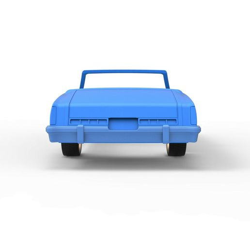 16.jpg Download STL file Diecast shell and wheels Buick Regal 1977 cabriolet Scale 1:25 • 3D printable design, CosplayItemsRock