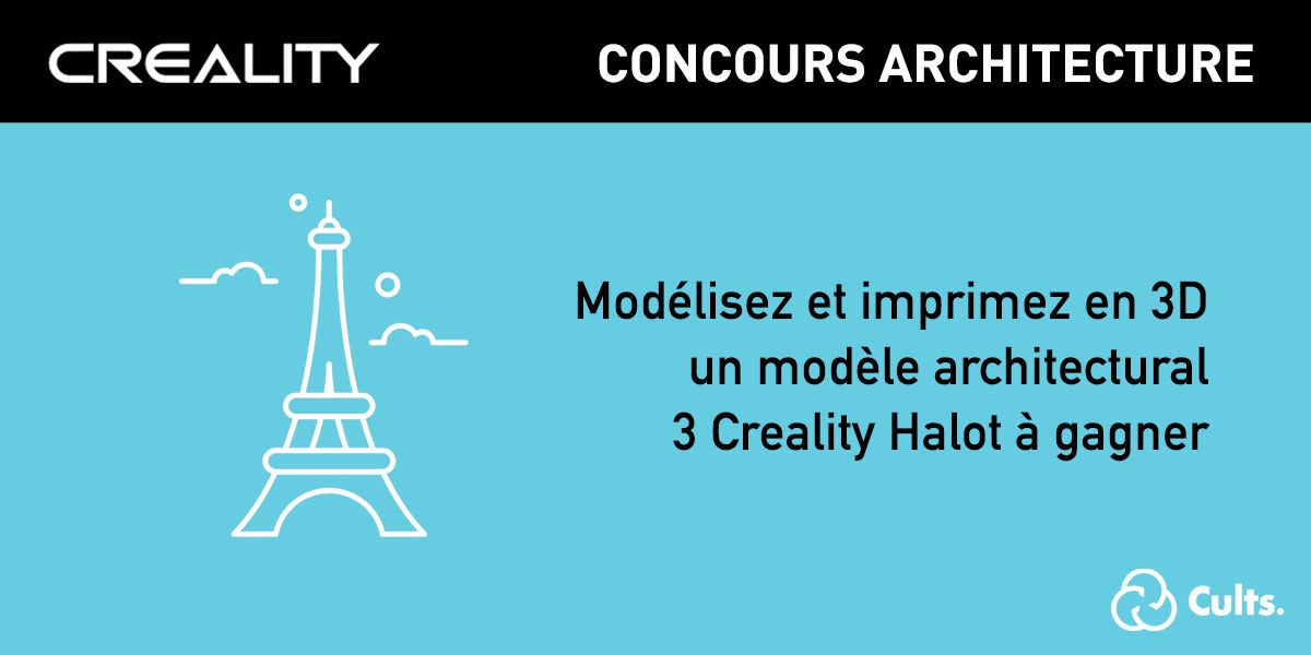architecture creality halot concours