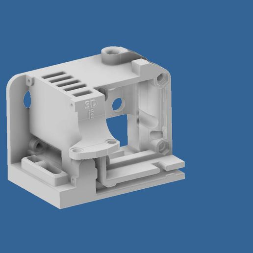 extruder-cover-ender-3-4.jpg Download STL file Compact Сreality Ender 3 extruder protection (cover) with provided standard cooling locations and mount for BL Touch (3D Touch) • 3D print object, CompadreVlad