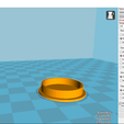 2018-01-30 (8).png Download free STL file Coaster with support • 3D printer design, YAN-D
