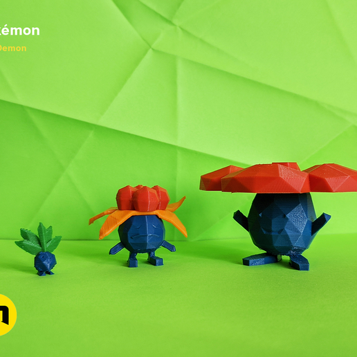 IMG_20200217_150319.png Download file Low Poly Pokemon Collection 151 • 3D printable object, 3D-mon