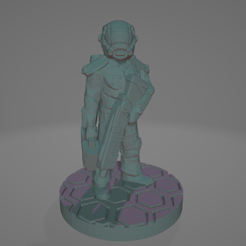 SL-Space-Soldier-Technician.png Download STL file Easy-Print Space Soldier Tech • 3D printable object, Ellie_Valkyrie