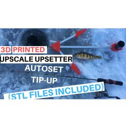 UPSCALE LURES V2.jpg Download free STL file UPSCALE UPSETTER AUTO SET TIP-UP • 3D printable template, UPSCALE_LURES