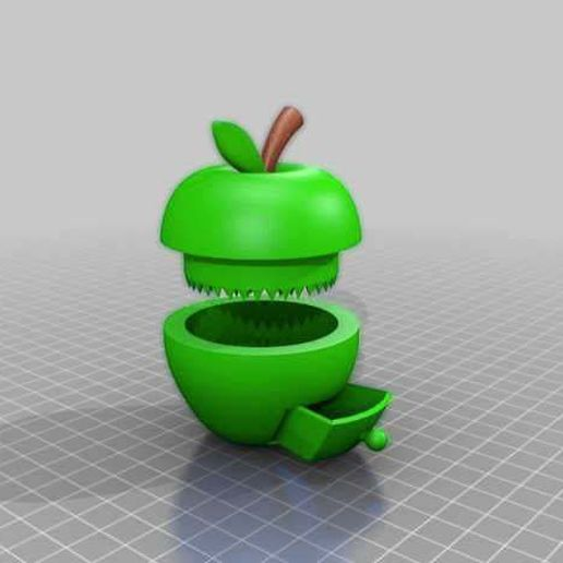 applegrinder.jpg Download free STL file flawless apple grinder with box • 3D printable model, syzguru11
