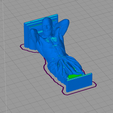 2.png Download STL file Atlas support • 3D print template, Tule