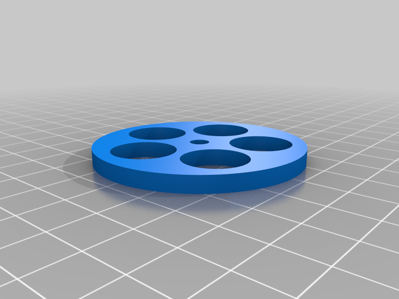 Lock_disk_V2.png Download free STL file Eryone Thinker S /  Eryone Thinker SE Rotating Support for Filament • 3D printing template, alby80