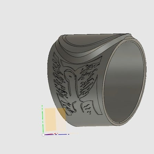 Pestialence_Ring.png Download free STL file Supernatural - Four Horsemen Of Apocalypse's Rings • Object to 3D print, ColinSS906