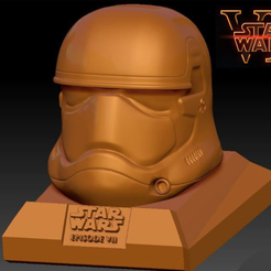 Capture d'écran 2016-12-13 à 10.29.33.png Download free STL file Star Wars Ep7 New Storm Trooper Helmet • 3D printer object, Geoffro