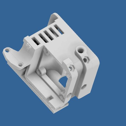 extruder-cover-ender-3-3.jpg Download STL file Compact Сreality Ender 3 extruder protection (cover) with provided standard cooling locations and mount for BL Touch (3D Touch) • 3D print object, CompadreVlad