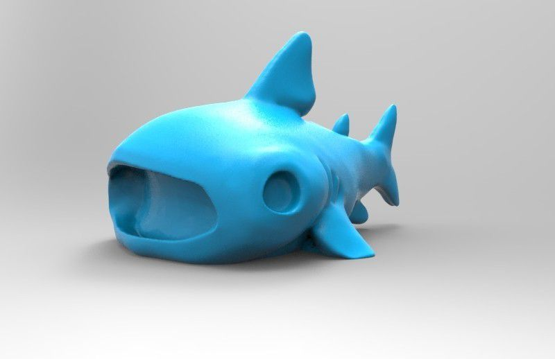 untitled.21.jpg Download free STL file Cute whale shark • 3D printer template, thePixelsChips