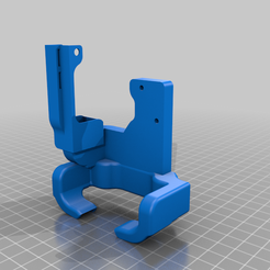 LGXE6_v2_cooling.png Download free STL file Creality Ender 6 LGX mount (Not finished) updated cooling duct coming very soon • 3D print object, byronclarkson