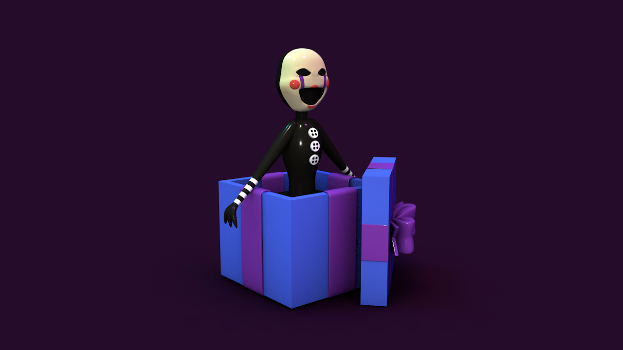 puppet s.png Download STL file FNAF2 - PUPPET WAMMY TOY • 3D printer template, Sahiko12