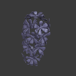 Flowers_thingi.png Download free STL file Bunch of flowers • 3D printer template, Fanaatti