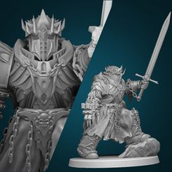 2.jpg Download free file The Last Prince • Template to 3D print, artiiicus