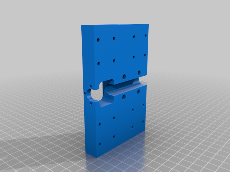 Back.png Download free STL file 3018 upgraded X and Z-axis • 3D printer template, Snakedad