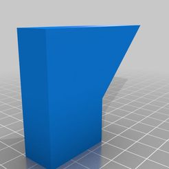45_degree_stock.jpg Download free STL file Overhang Calibration Pieces - 30, 35, 40, 45 degree • 3D print design, chickan