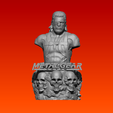 2.PNG Download OBJ file Metal Gear Solid : Snake Bust • Object to 3D print, Geralp