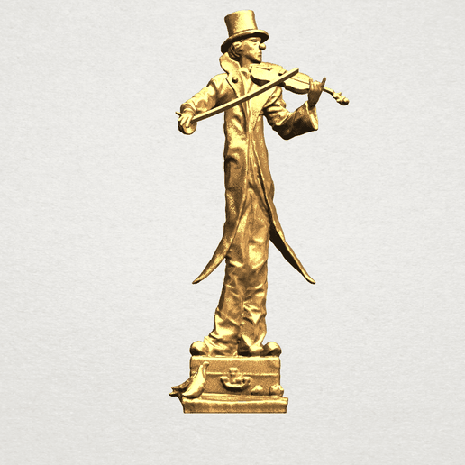 Play Violin A01.png Download free STL file Play Violin • 3D printable model, GeorgesNikkei