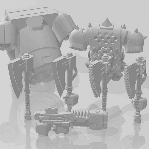 Reaver-parts.jpg Download gratis STL-bestand Reaver parts • Object om te printen in 3D, HardcoreVZ