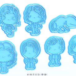 Screenshot_3.png Download STL file Stranger Things TV series cookie cutter set of 7 • 3D printable template, roxengames