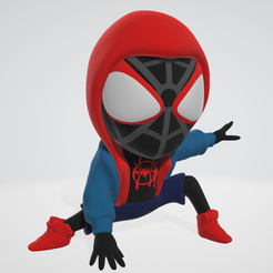 miles.PNG Download STL file Spider Man - Moral Miles • 3D print design, adam_leformat7